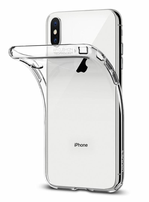 iphone x case spigen liquid crystal