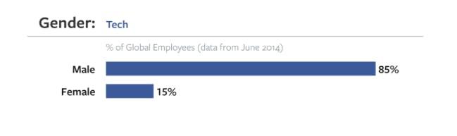 Facebook diversity: Tech