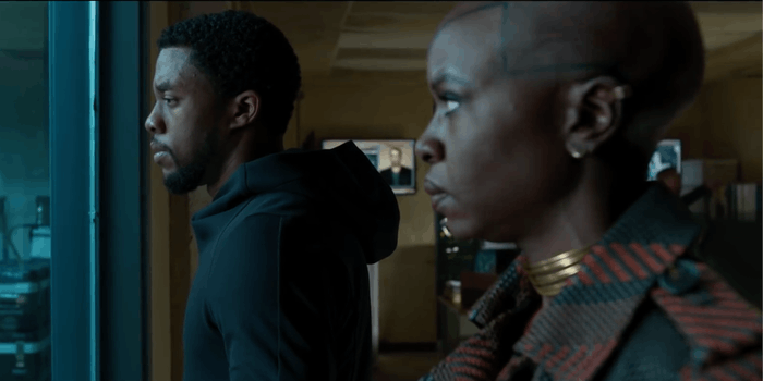 People are faking attacks at 'Black Panther' screenings.