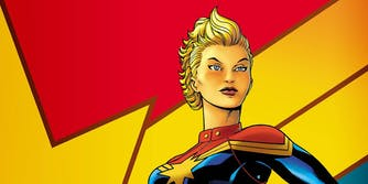 Female superheroes : captain marvel