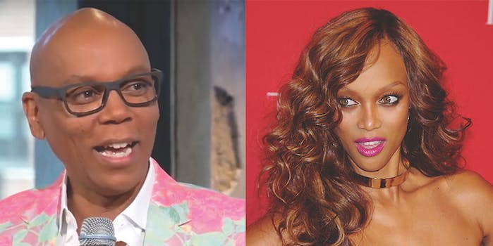 Queens from 'RuPaul's Drag Race' will appear on 'America's Next Top Model.'