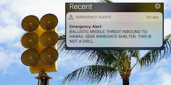 hawaii false alarm ballistic missile alert