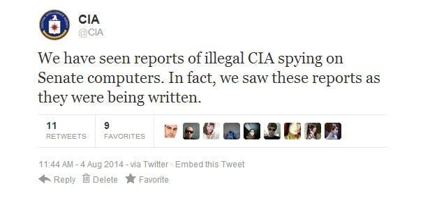 CIA tweet 0