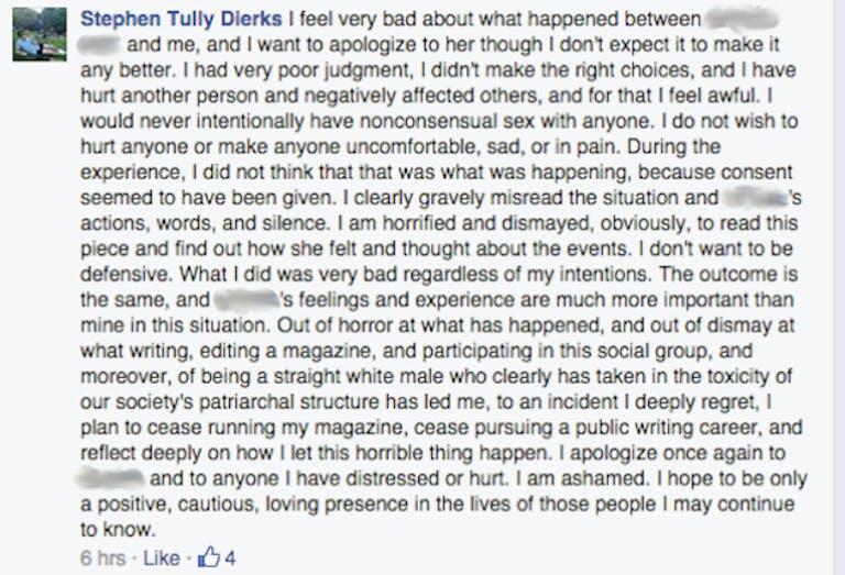Stephen Tully Dierks Facebook