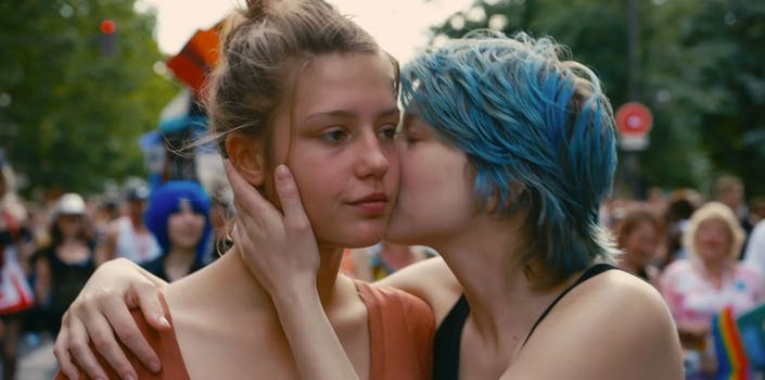 lgbt movies on netflix - blue is the warmest color