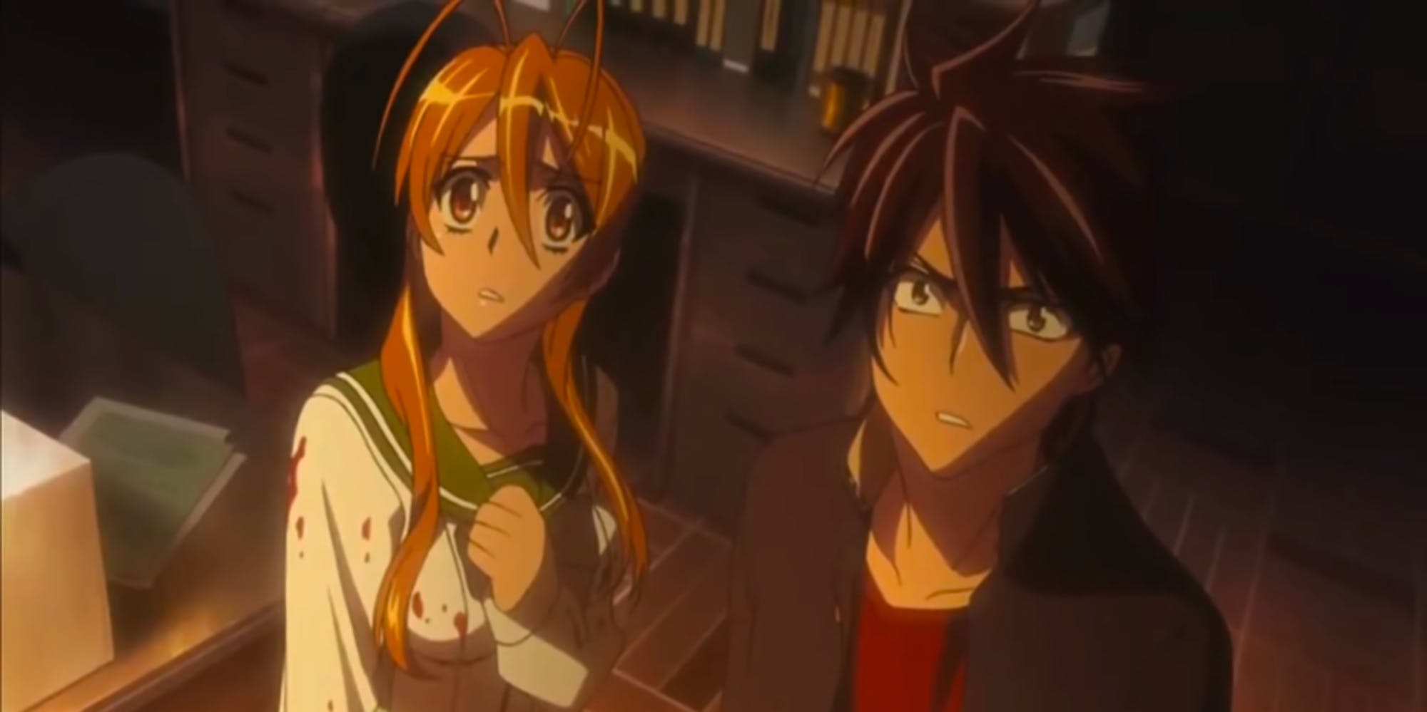hulu best anime series - highschool of the dead