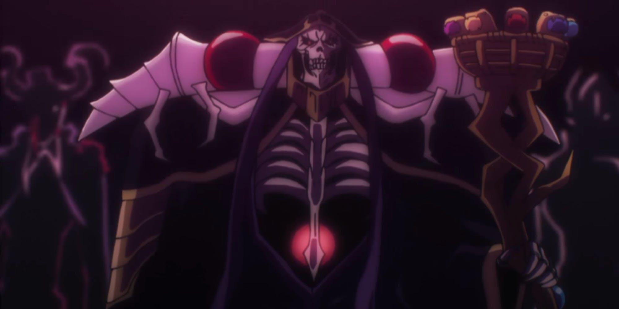 hulu best anime series - overlord