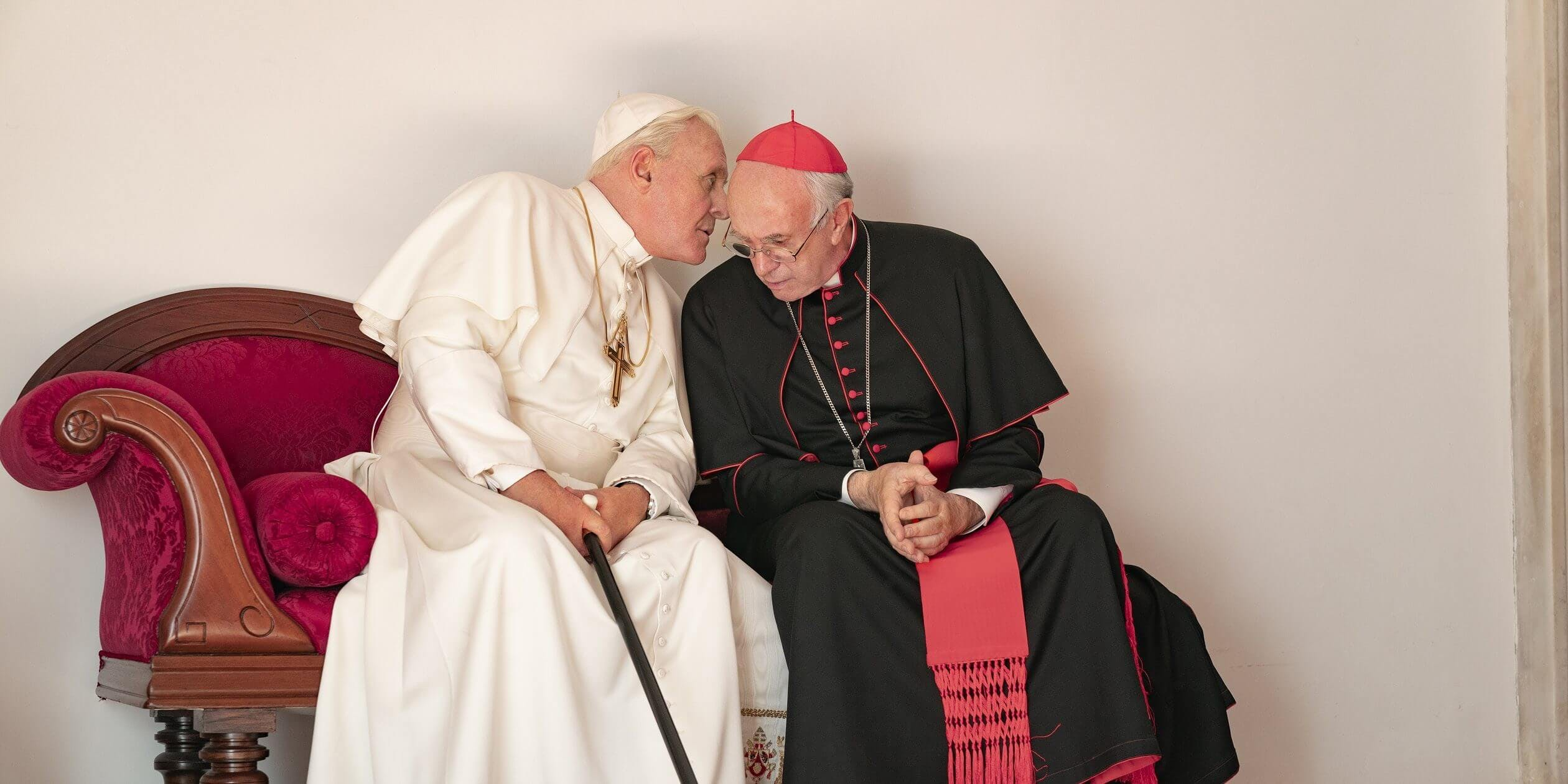 movies based on true stories on Netflix - the Two Popes