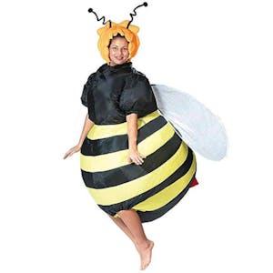 Inflatable bee costume