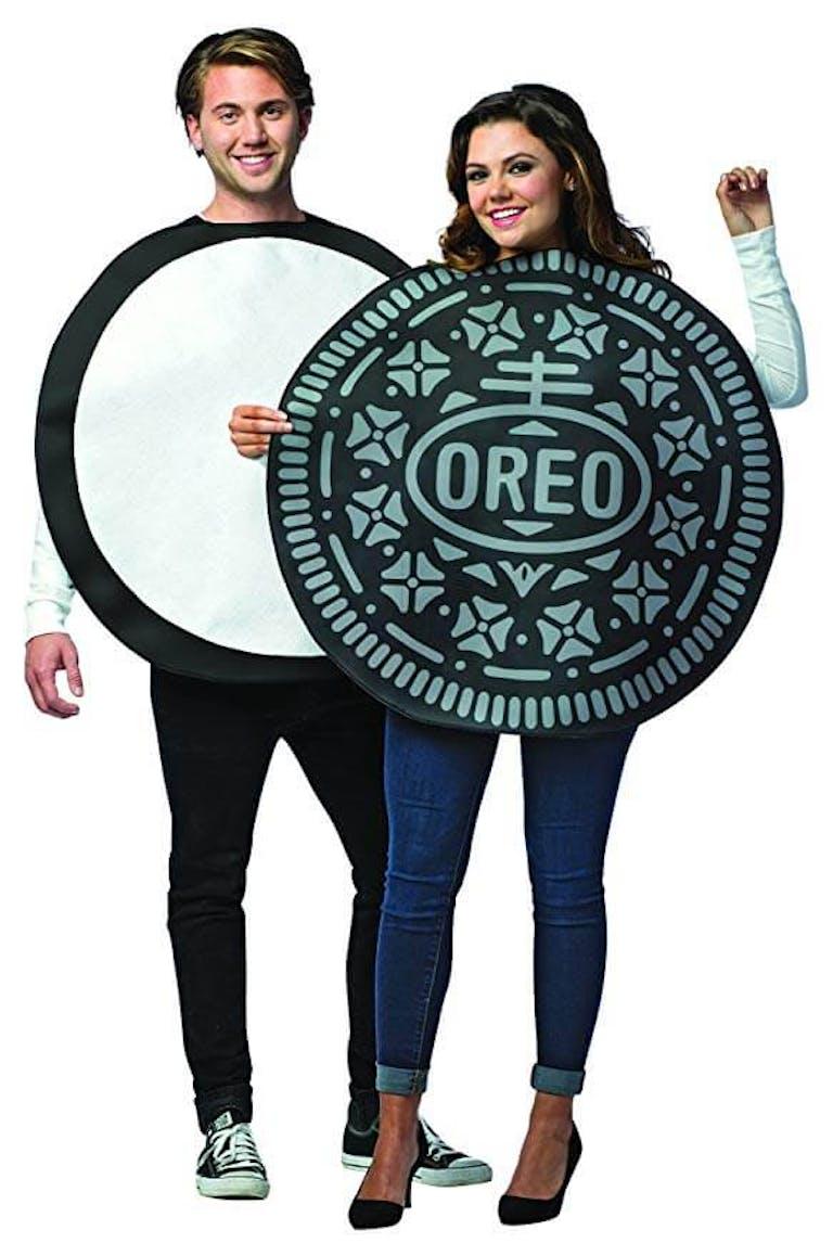 couples oreo costume