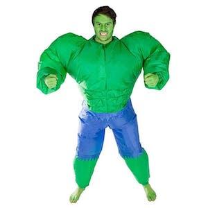 inflatable costume hulk