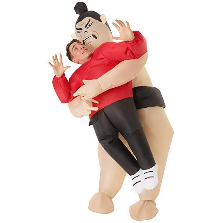 inflatable Halloween costume sumo