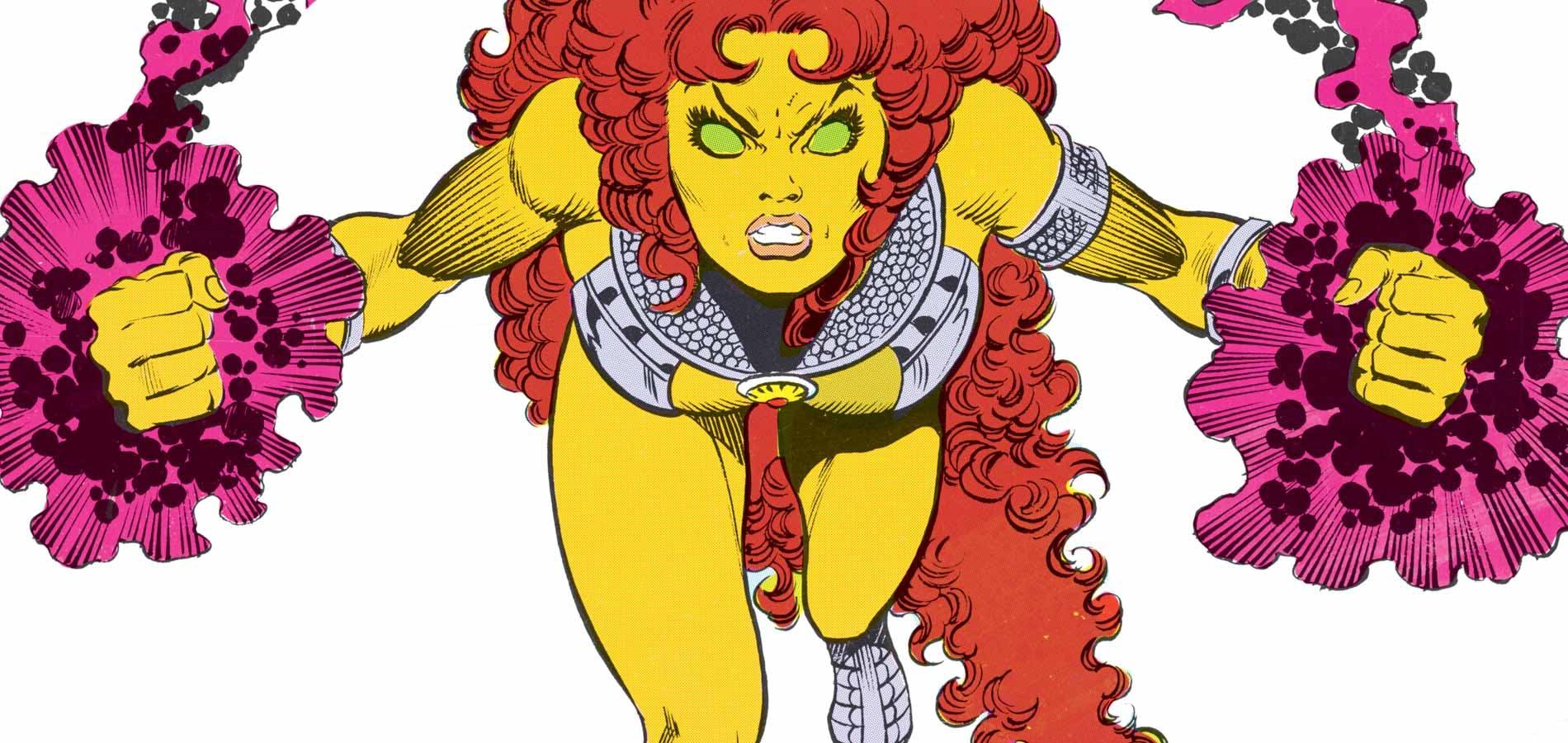 women superheroes - starfire