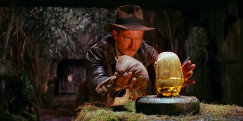 Action movies on Netflix - Indiana Jones and the Raiders of the Lost Ark