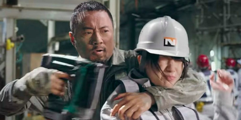 action movies on Netflix - Manhunt
