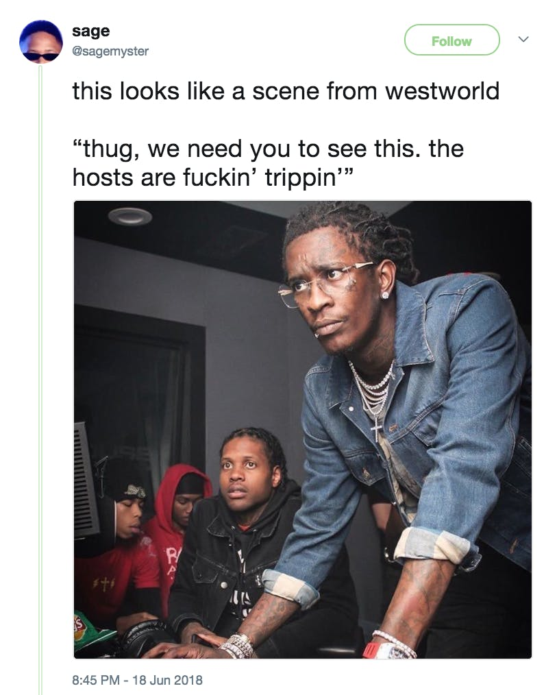 best memes of 2018 - young thug
