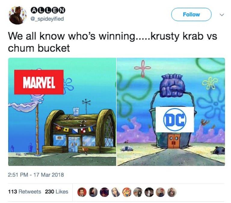 best new memes 2018 krusty krab vs chum bucket