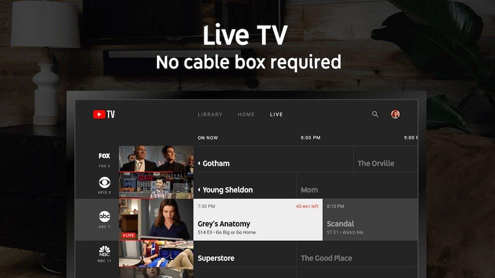 watch live tv apple tv - youtube tv
