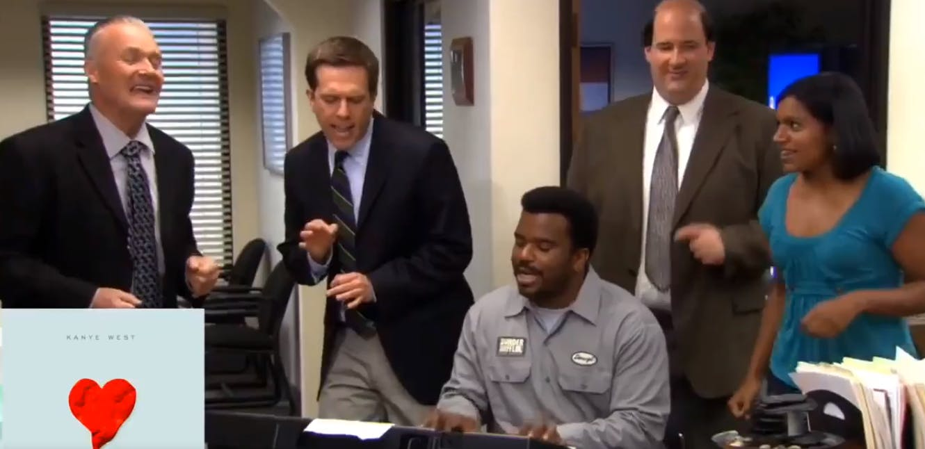 the office kanye west