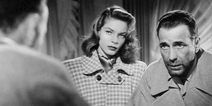 Bacall and Bogart Dark Passage
