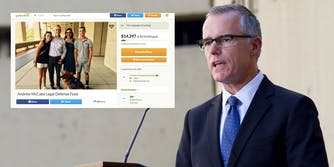 A GoFundMe page has been set up to help former FBI Deputy Director Andrew McCabe with legal fees.