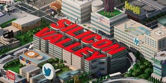 silicon valley takes a jab at facebook