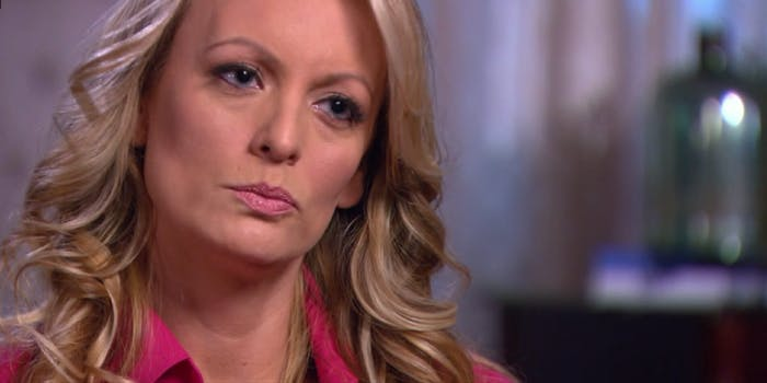 Stormy Daniels claims her alleged affair with Donald Trump isn't a #MeToo moment.