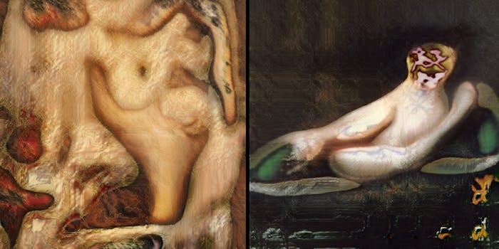 ai nude painting