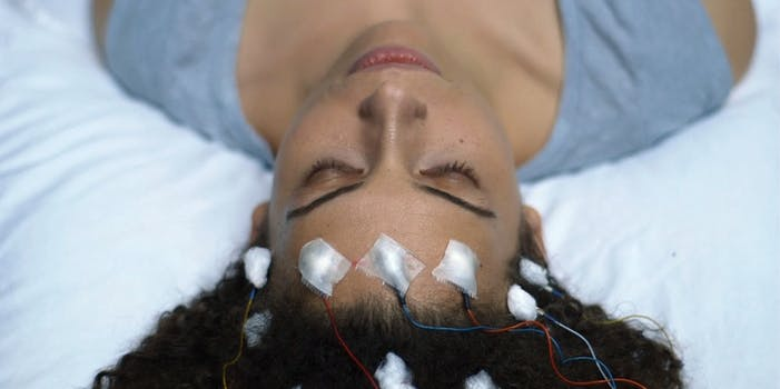 best documentaries of 2018 - Woman laying on table with neurological sensors in Unrest