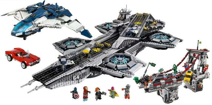 best lego marvel sets - avengers and spiderman