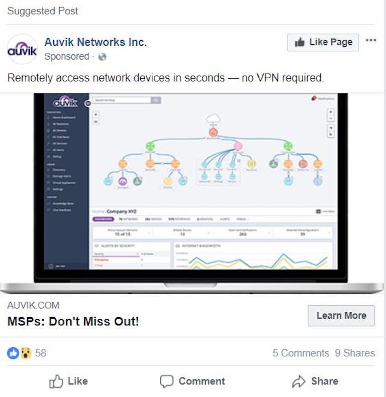 facebook ads vpn