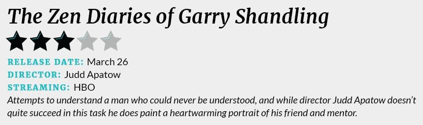 The Zen Diaries of Garry Shandling review box