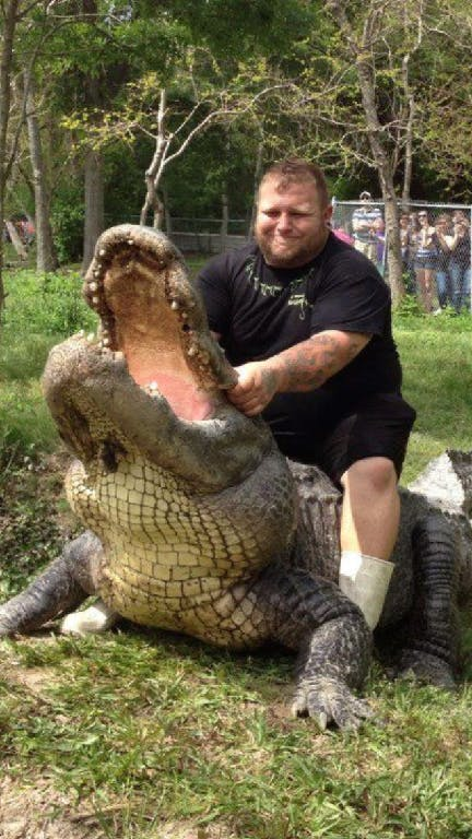 T-Mike, the Gator King
