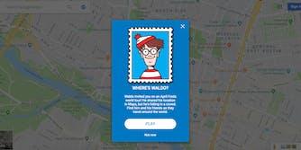 Google Maps where's Waldo