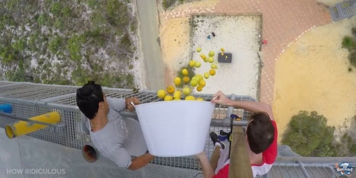 How Ridiculous YouTube potatoes trampoline