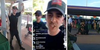 ImJayStation YouTube arrested Disney World
