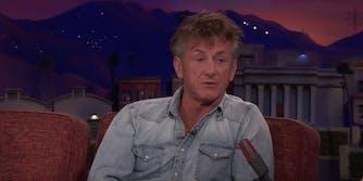 Sean Penn Steve Bannon Conan
