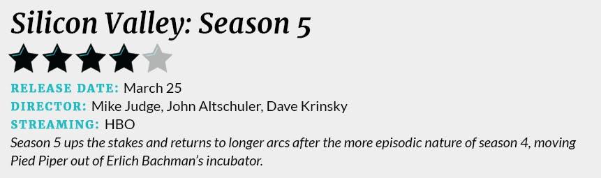 Silicon Valley season 5 review box
