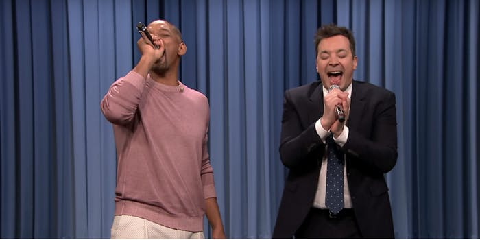 will smith and jimmy fallon remix tv theme songs