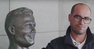 Cristiano Ronaldo Bust