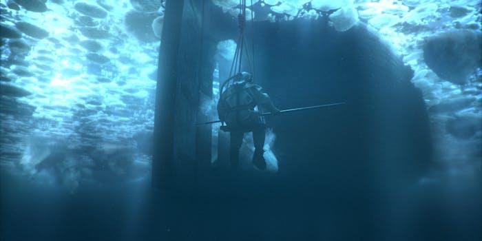 the terror scuba diver