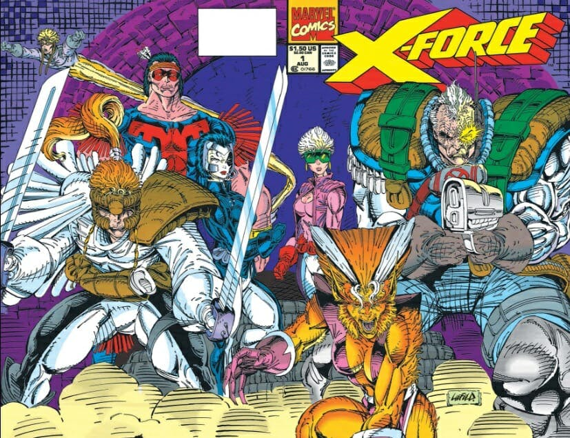 x force : x-force comic cover