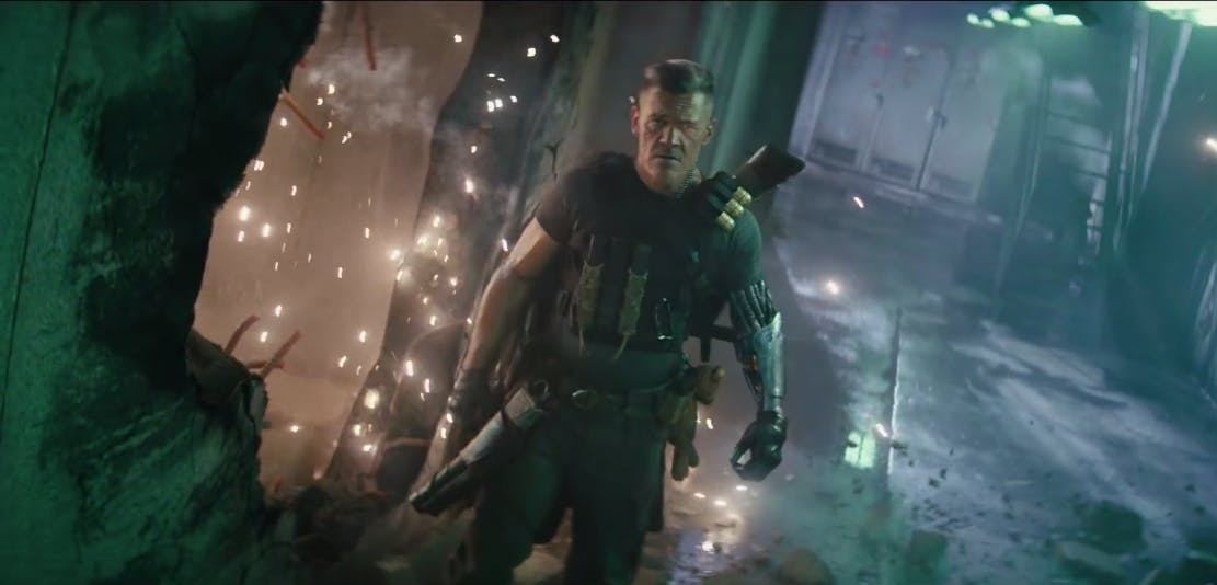 x-force : josh brolin as cable