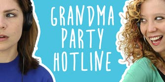 2 Girls 1 Podcast: Meet the Mysterious Creator of 'Grandma Party Hotline'