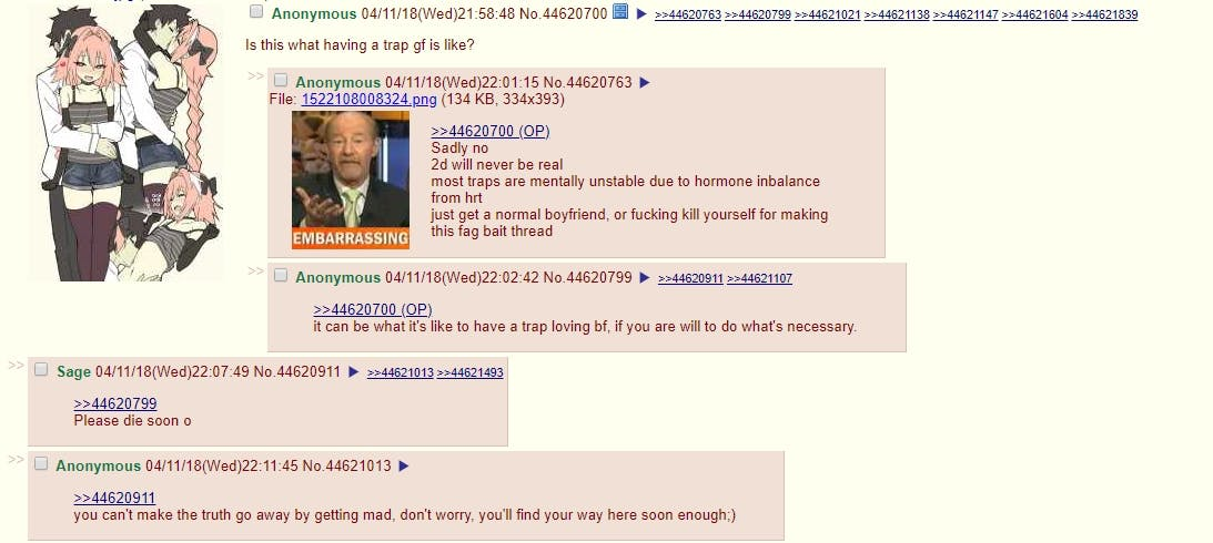 4chan users on /r9k/ believe there is a
