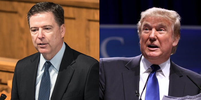 Former FBI Director James Comey claims in his upcoming book that President Donald Trump asked him to investigate the so-called 'pee tape,' according to a new report.