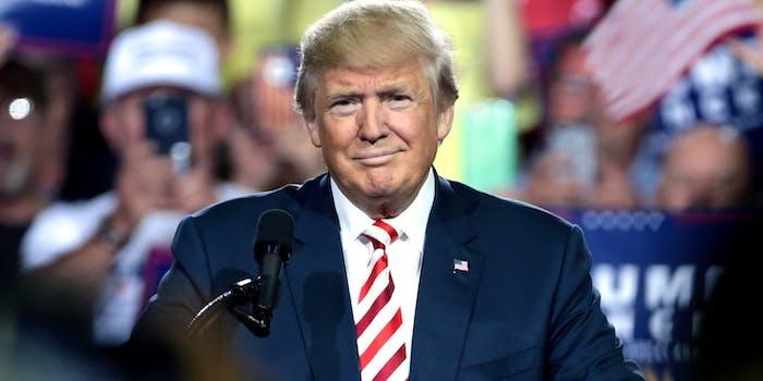 President Donald Trump isn't popular among women, a new poll reveals.