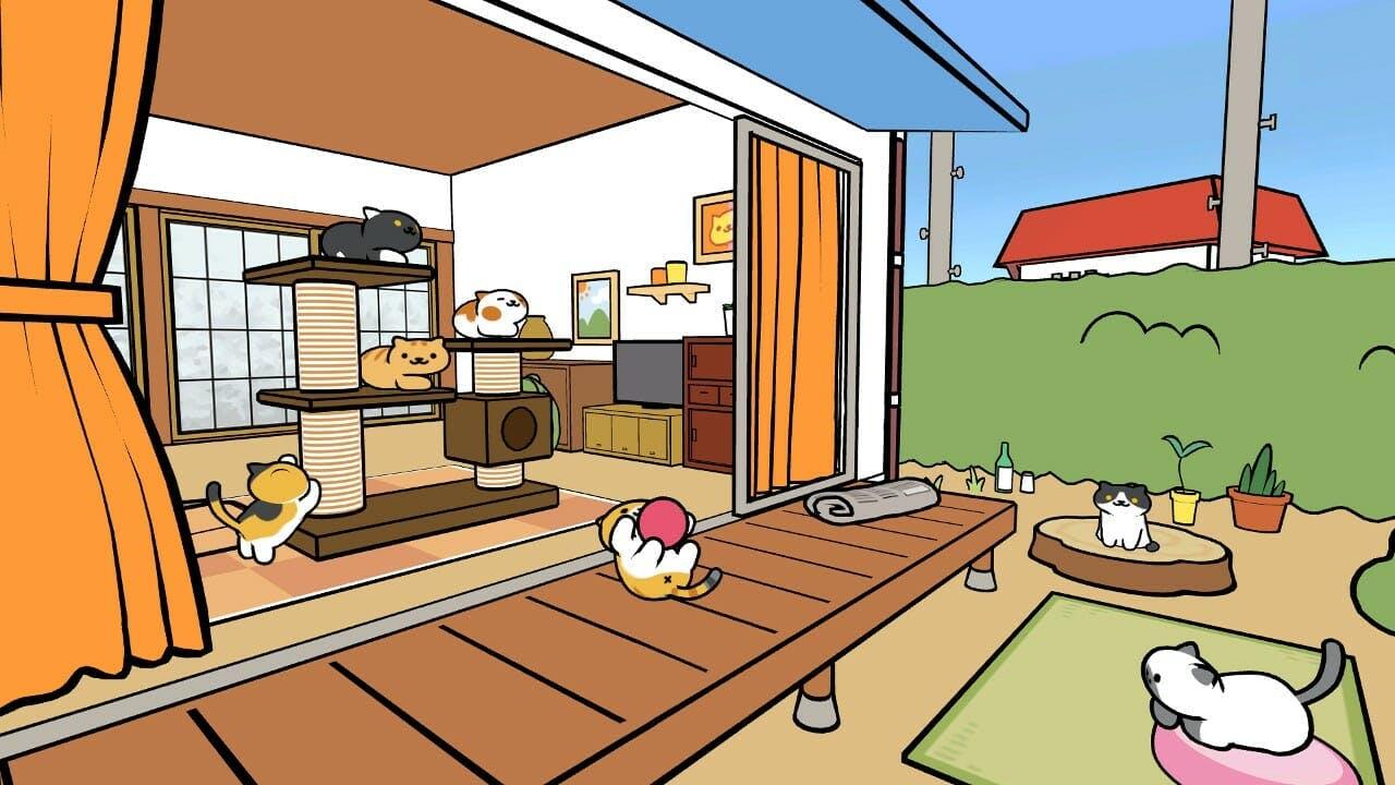 Neko Atsume VR Edition