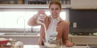 Meg whitman in the kitchen