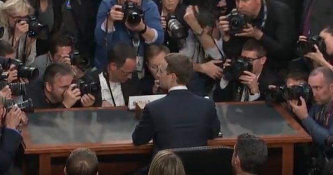 Mark Zuckerberg chair